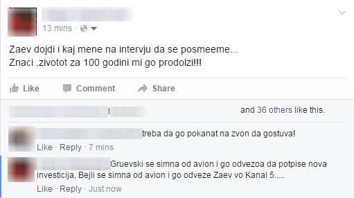 ФОТО: Граѓаните со потсмев за интервјуто на Заев на социјаллните мрежи