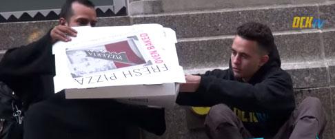 ВИДЕО: Овој бездомник ќе ве промени