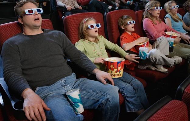 Гледањето 3Д филмови ја поттикнува работата на мозокот