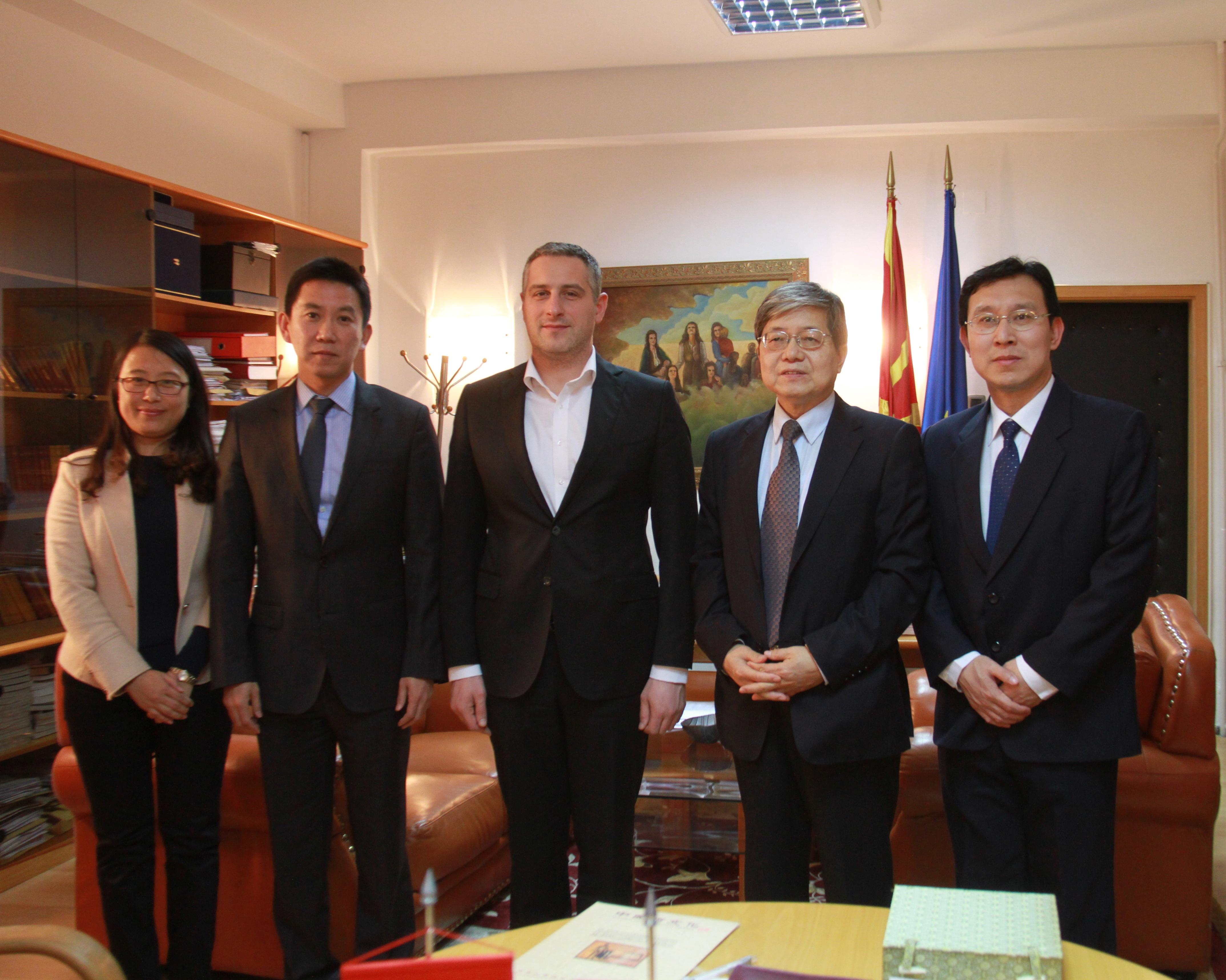 Македонскиот Центар за традиционална кинеска медицина – прв државен центар во Европа