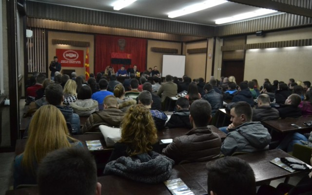 УМС на ВМРО-ДПМНЕ оддржа трибина во Штип