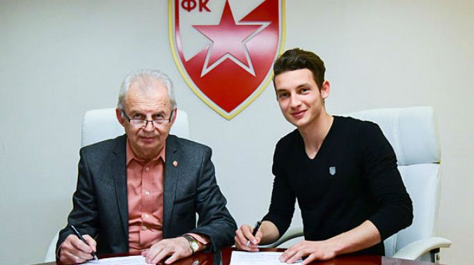 Давид Бабунски потпиша за Црвена Звезда