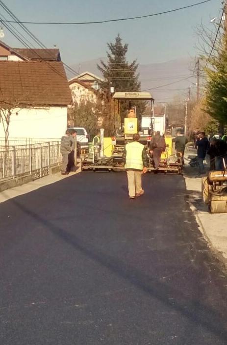 Санирани улици во општина Бутел