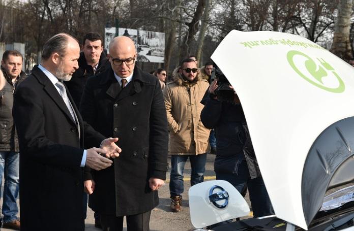 Град Скопје, прва локална самоуправа со електромобил