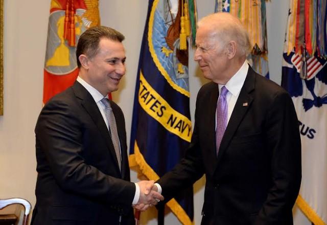 Груевски: Средбата со Бајден е потврда на стратешкото партнерство со САД