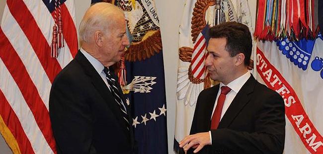 Груевски во посета на САД на средба со потпретседателот на САД Бајден