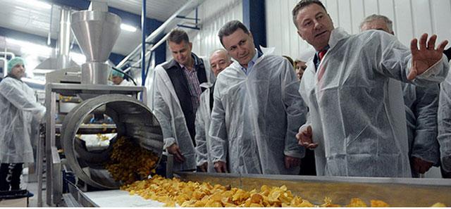 Фабрика за чипс во Кравари - нова браунд филд инвестиција