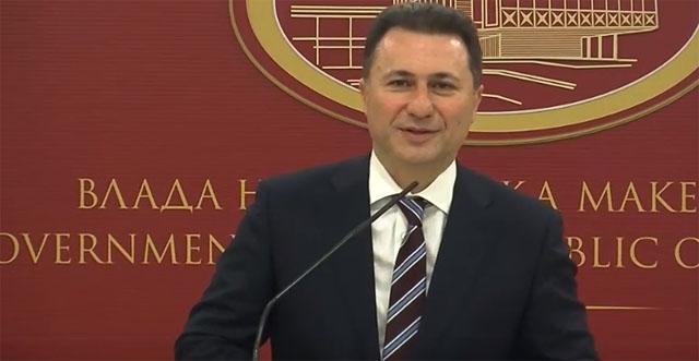 Груевски: Проблемите да се стават зад нас, а народот и државата да продолжат напред