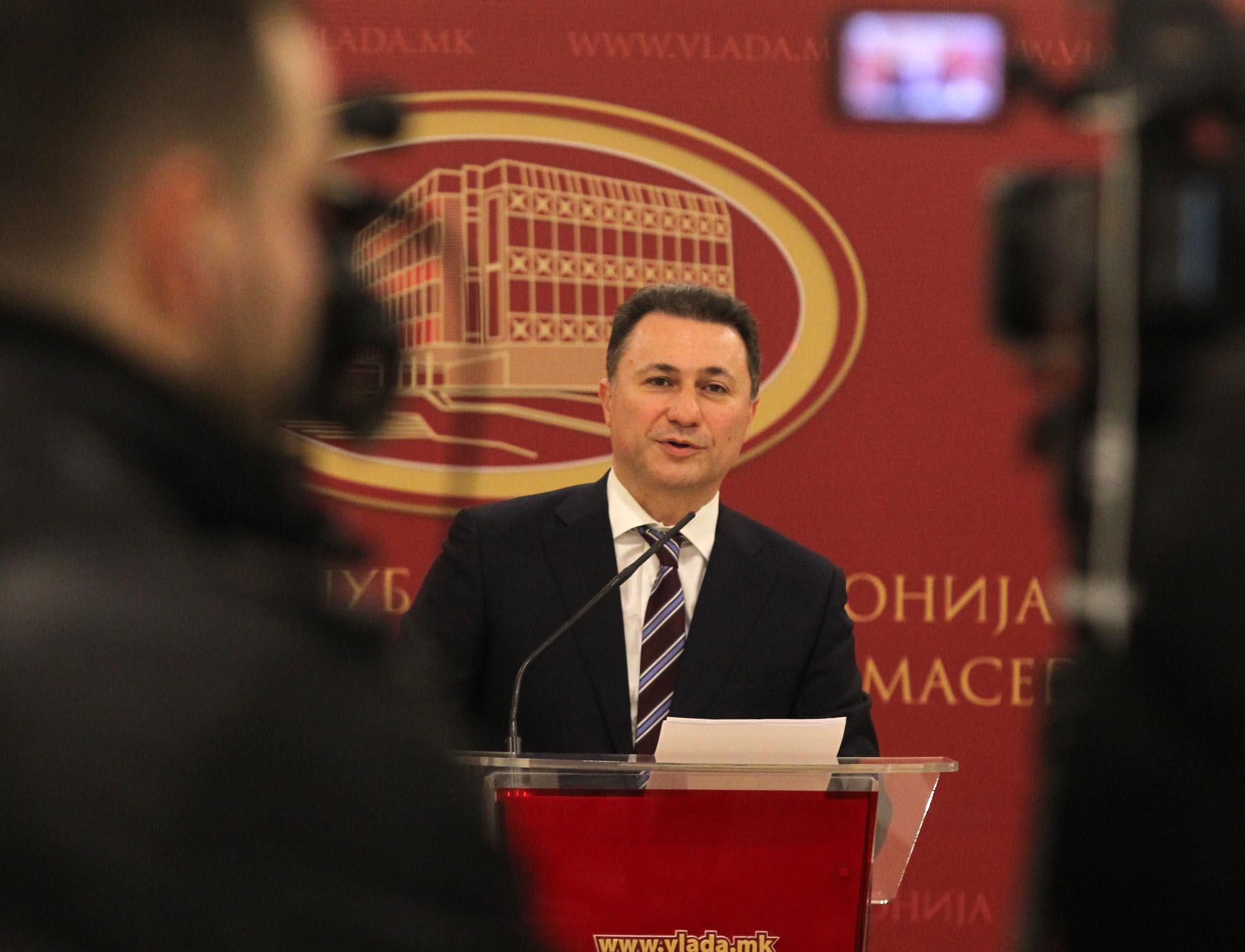 Груевски: Истрајавме заедно со вас, и ќе победиме заедно со вас