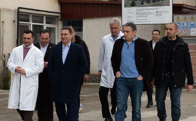 Груевски во посета на Охрид