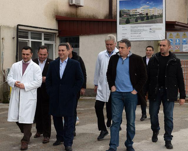 Груевски во посета на Охрид  (ФОТО)