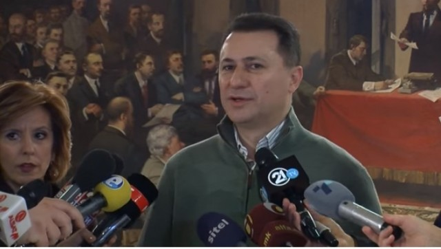 Груевски: Најниската пензија од 2006 година e зголемена за 94 отсто
