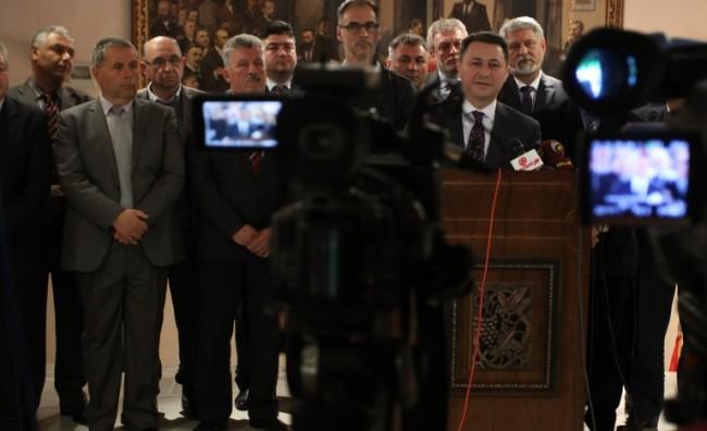 Груевски: Лидерите да ја стават волјата на народот пред сопствените амбиции и лични интереси