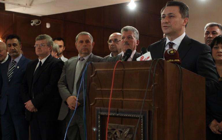 Груевски: За многу години, од денес сите ќе можеме да кажеме – 24 април беше денот кога заврши политичката криза!