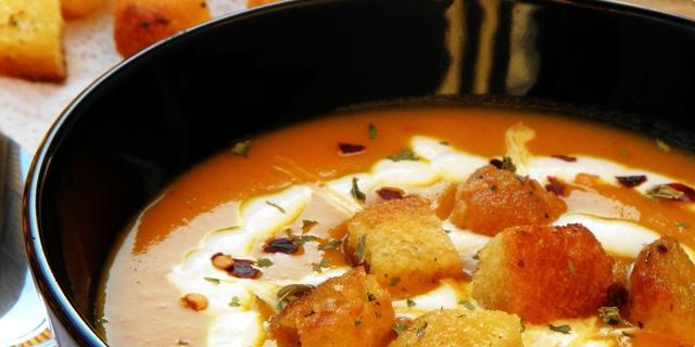Густа супа од морков и кремпита
