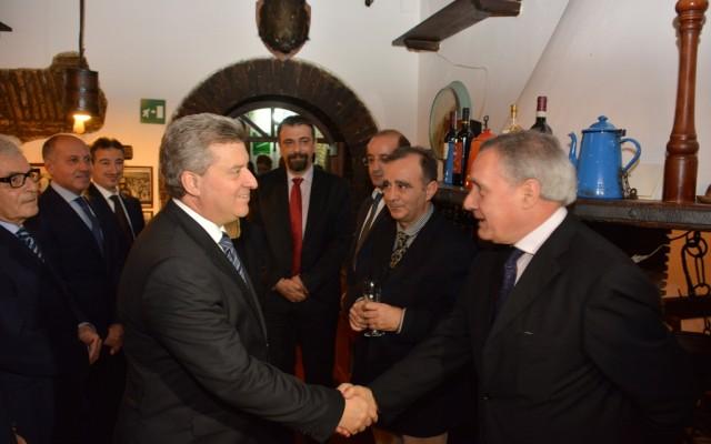 Иванов оствари средба со членови на Италијанско-Македонската стопанска комора
