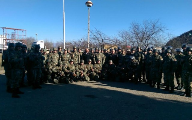 Иванов ги посети припадниците на АРМ распоредени на јужната граница