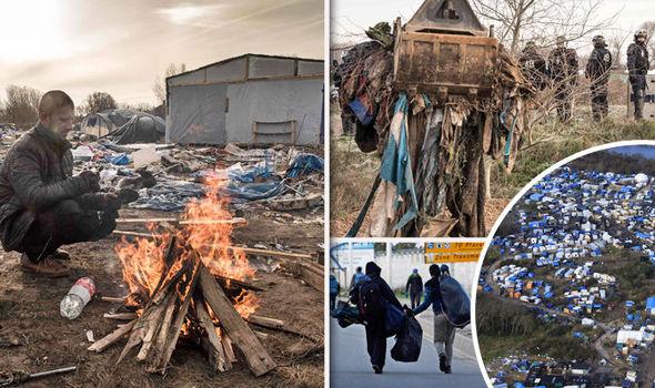 ФОТО+ВИДЕО: Француските власти го рушат кампот џунгла кај Кале