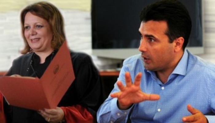 """""""Курир"""":  Јанева ја премина линијата со насилно спроведување на мастерпланот на Зоран Заев"""