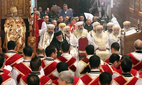Египетските Копти го слават Божик