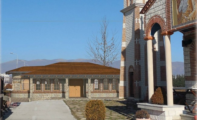 Црквата Св. Јован Крстител ќе добие крстилница