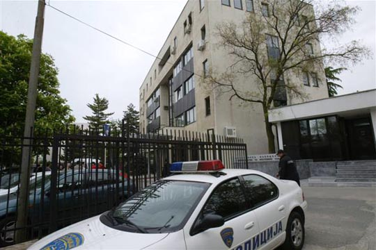 Пожар во канцеларијата на Пивоваров во МВР