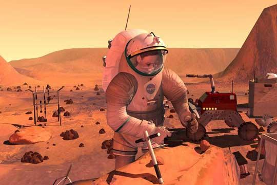 НАСА планира да сади компири на Марс