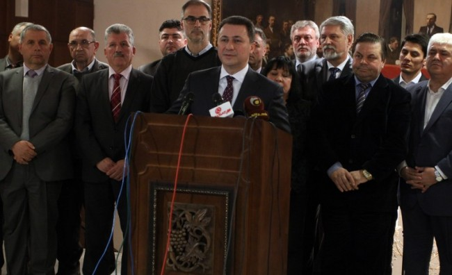 Груевски: Цврстото стоење позади избори е реафирмација на нашата верба во демократијата