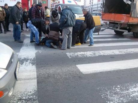 ФОТО: Познат идентитетот на пешакот што вчера беше прегазен од камион
