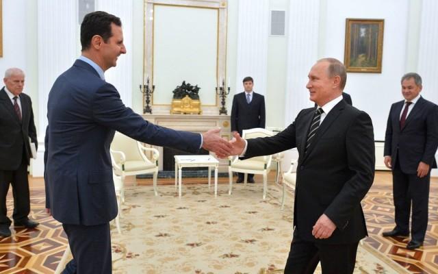 Средба помеѓу Путин и Асад во Москва