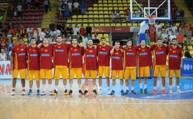 Maкедонија ги доби противниците за квалификациите за Еуробаскет 2017