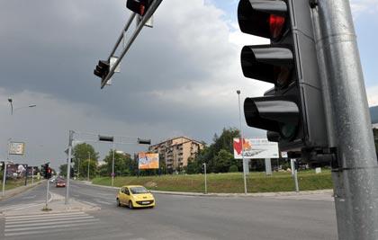 Се воведува трепкаво зелено светло на крстосниците во Скопје
