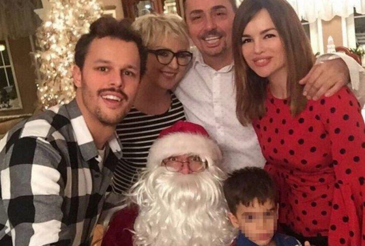 ФОТО: Северина со семејството на Игор го слави Божик