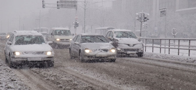 Совети од РСБСП за безбедно возење во зимски услови
