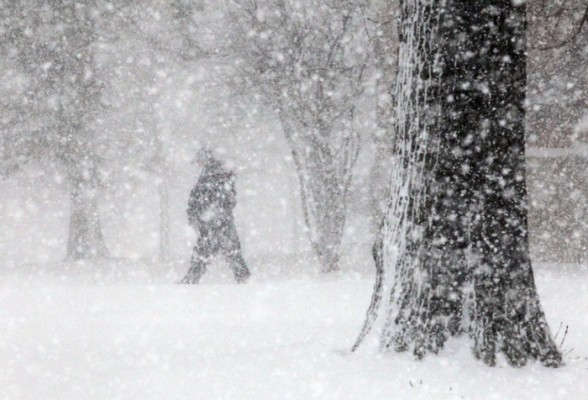 Викендов снежна бура, ќе навее снег до 35 сантиметри
