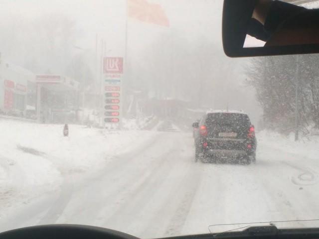 ФОТО: Снег на Стража