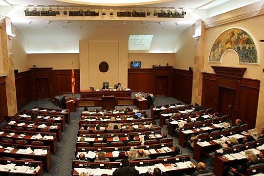 Расправа за предлог-закон за решавање на статусот на стечајците во Собрание