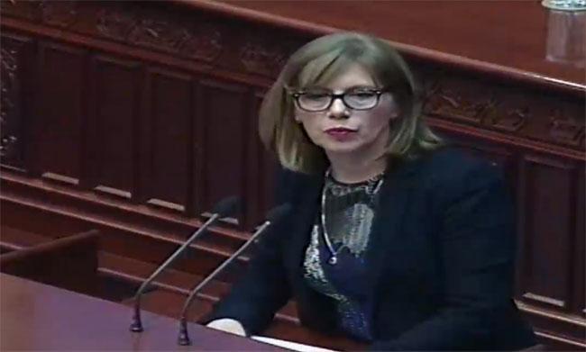 Грчева: СДСМ однапред ги признаа изборите во декември- потпиша идентичен Избирачки список