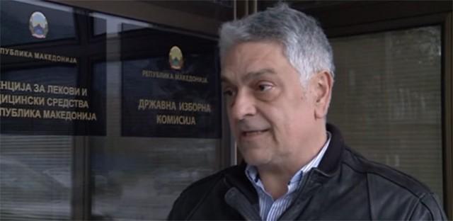 Сашо Срцев, член на ДИK од редовите на ВМРО-ДПМНЕ