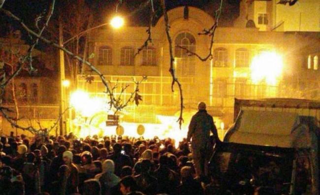 Уапсени 40 лица по нападот врз амбасадата на Саудиска Арабија во Техеран