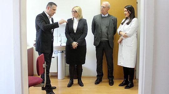 Нов дерматовенеролошки специјалистички кабинет во поликлиника Драчево
