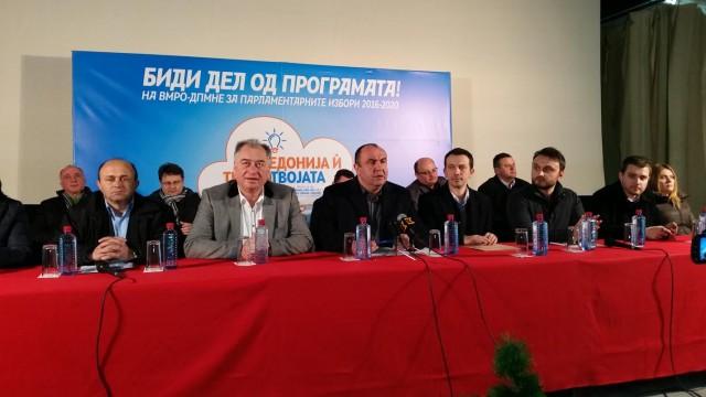Пешевски: Целта е секогаш да оствариме повеќе од ветеното