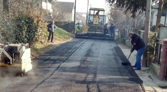 Санирани неколку улици во општина Бутел