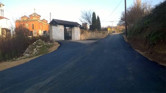 Санирани улици во општина Kисела Вода