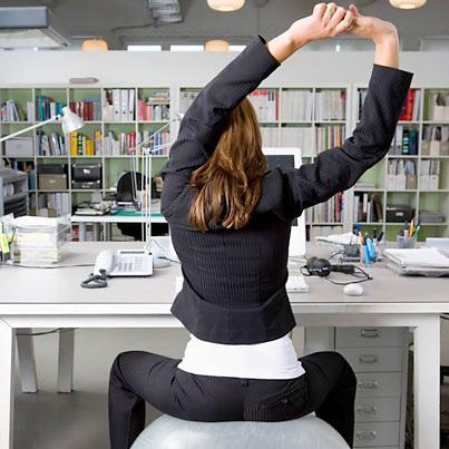 Вежби за оние кои работат во канцеларија