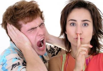 Еве како за замолчите жена која премногу зборува