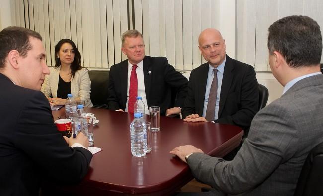 Груевски се сретна со потпретседателот и регионалниот директор на ИРИ