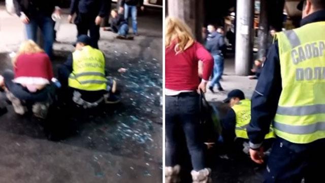 Иранец избоде полицаец со нож во Белград