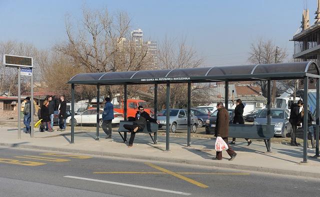 Нови 52 автобуски постојки на скопските булевари