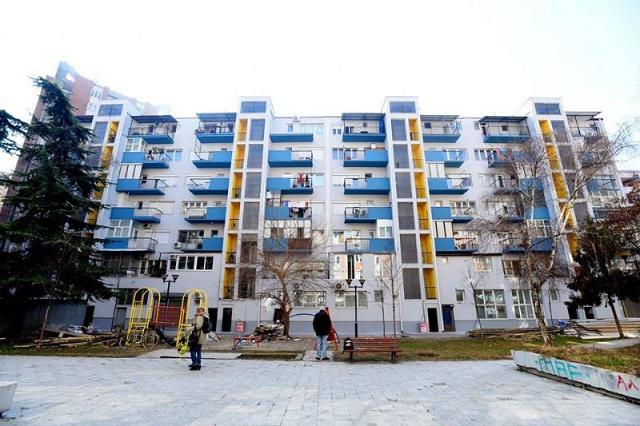 """Нова енергетски ефикасна фасада на зградата кај """"Сава-Крањ"""""""